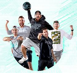 Dude Perfect Tour Artwork