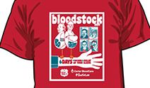 Picture of blood drive t-shirt