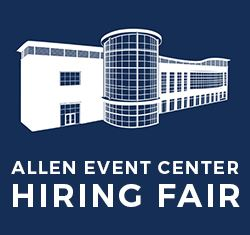 Allen Event Center Hiring Fair