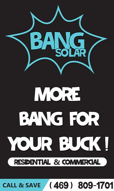 Bang Solar More Bang for you Buck with phone number