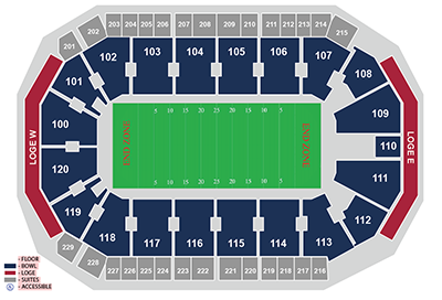 Football Seating at Allen Event Center 400.png