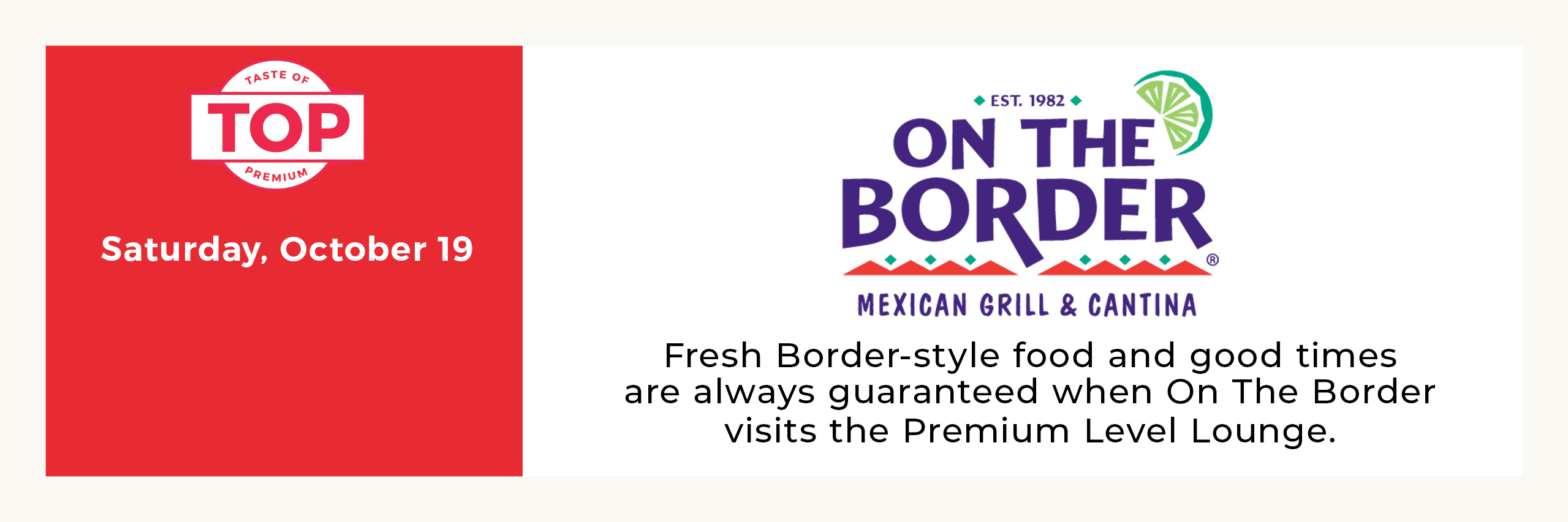 On The Border Opens in new window