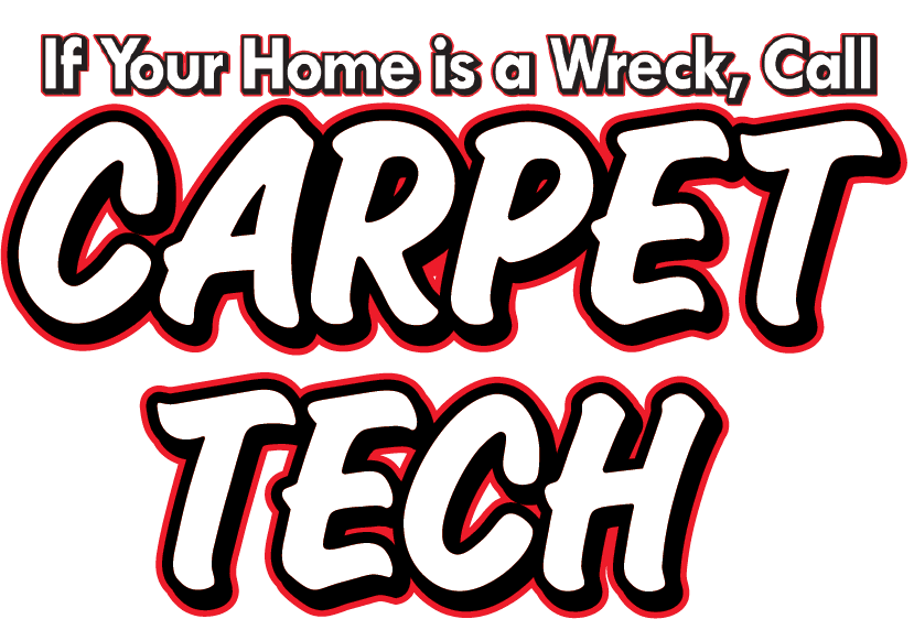 Carpet Tech stacked logo w Tagline