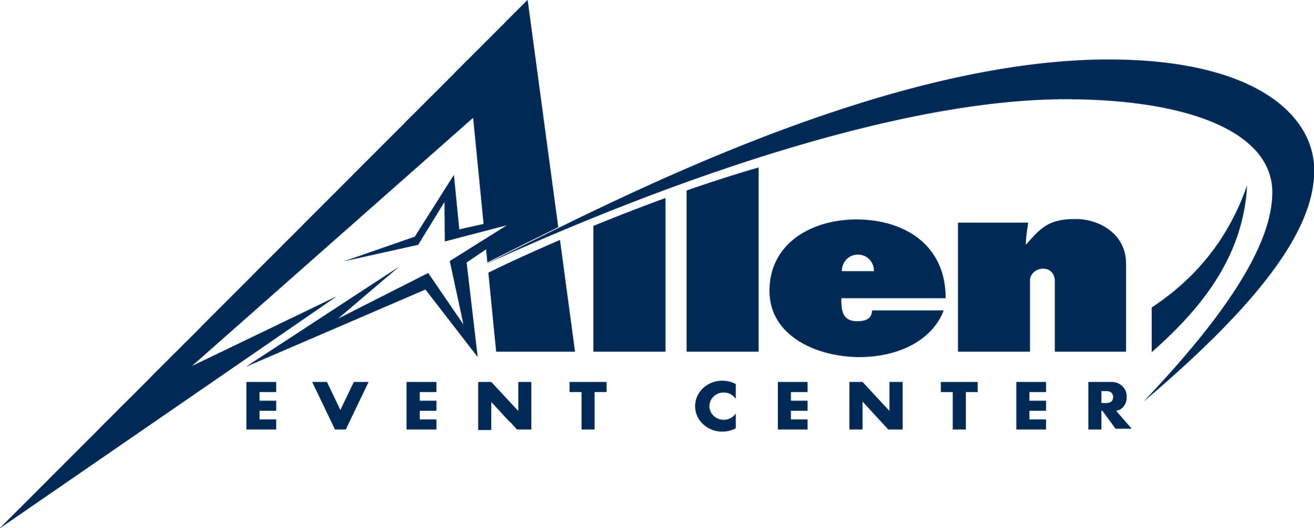 New Allen Event Center logo_Blue
