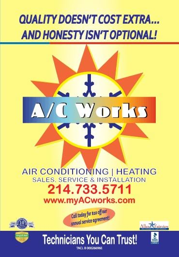 My A/C Works Advertisement