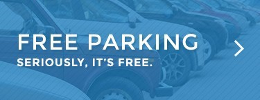 Free Parking - Seriously, it's free.