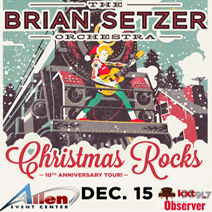 The Brian Setzer Orchestra Christmas Rocks 10th Anniversary Tour - December 15