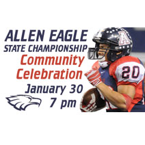 Allen Eagles State Champions Community Celebration